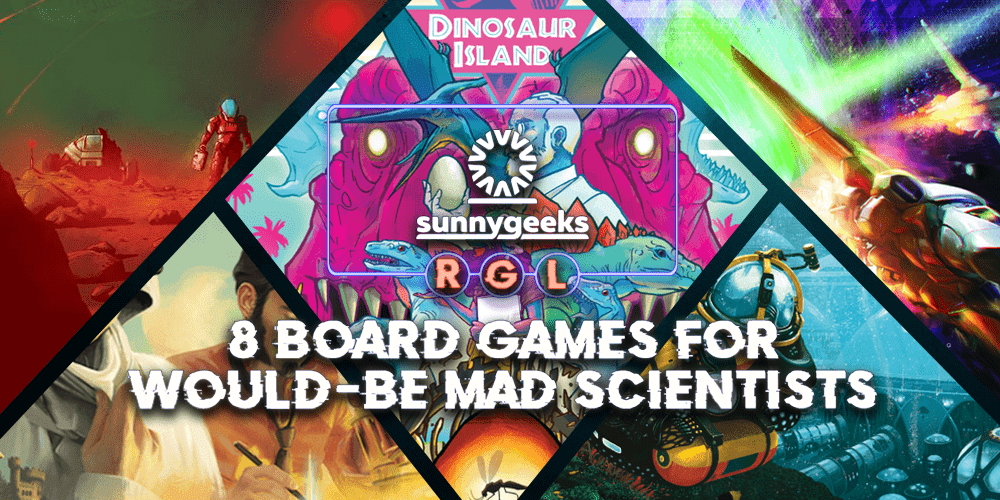 8 Board Games for Would-Be Mad Scientists