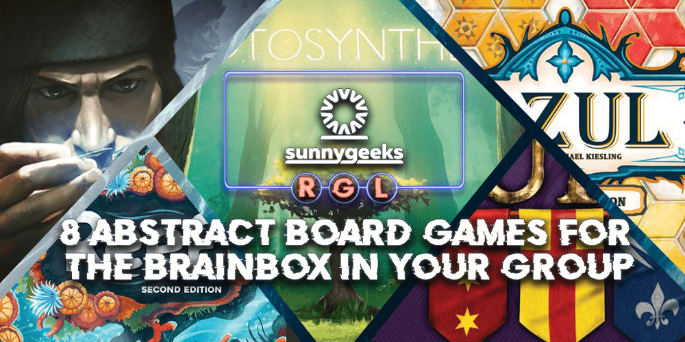 8 Abstract Board Games for the Brainbox in your Group