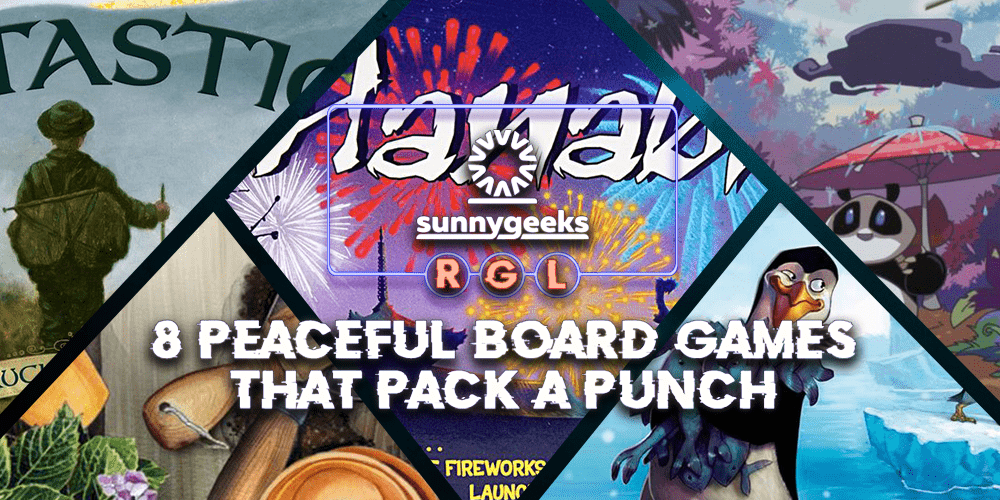 8 Peaceful Board Games that Pack a Punch