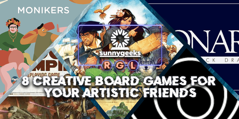 8 Creative Board Games for Your Artistic Friends