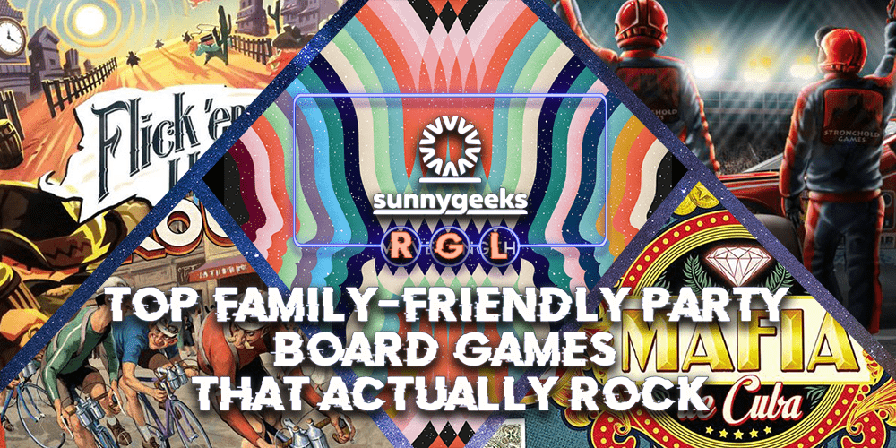 Top Family-Friendly Party Board Games that Actually Rock
