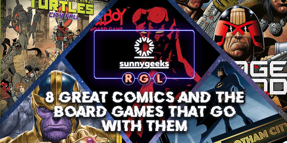 8 Great Comics And The Board Games That Go With Them
