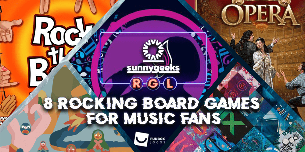 8 Rocking Board Games for Music Fans
