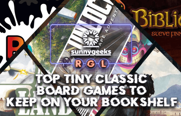 Top Tiny Classic Board Games To Keep On Your Bookshelf
