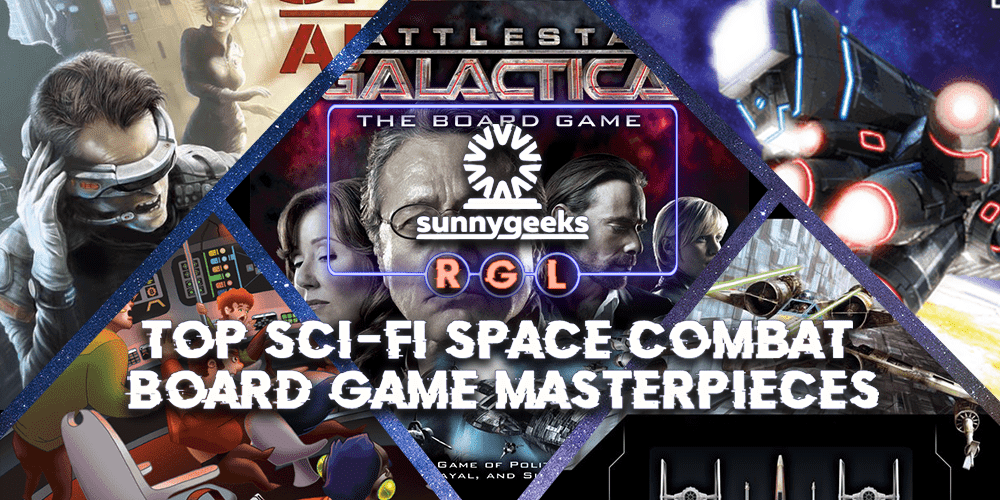 Top Sci-Fi Space Combat Board Game Masterpieces